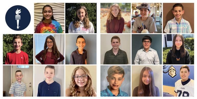 17 Carl H. Kumpf Students Inducted into National Junior Honor Society