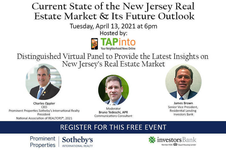 TAPinto to Host Panel Discussion on Current State of Real Estate in New Jersey