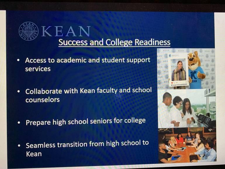 Kean University Dual Enrollment Program Presented at Plainfield's Board of Ed Business Meeting