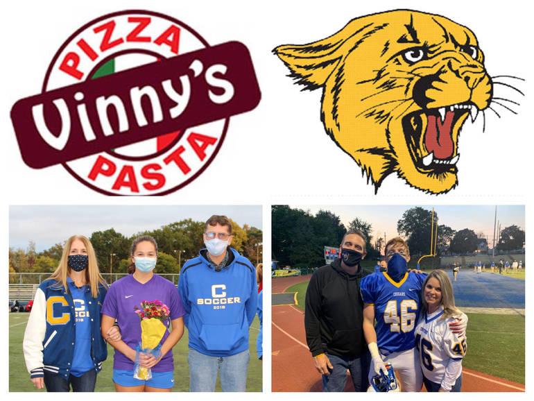 Vinny's Pizza & Pasta Cranford Senior Athletes of the Week: Amanda Vath & Kevin Keogh