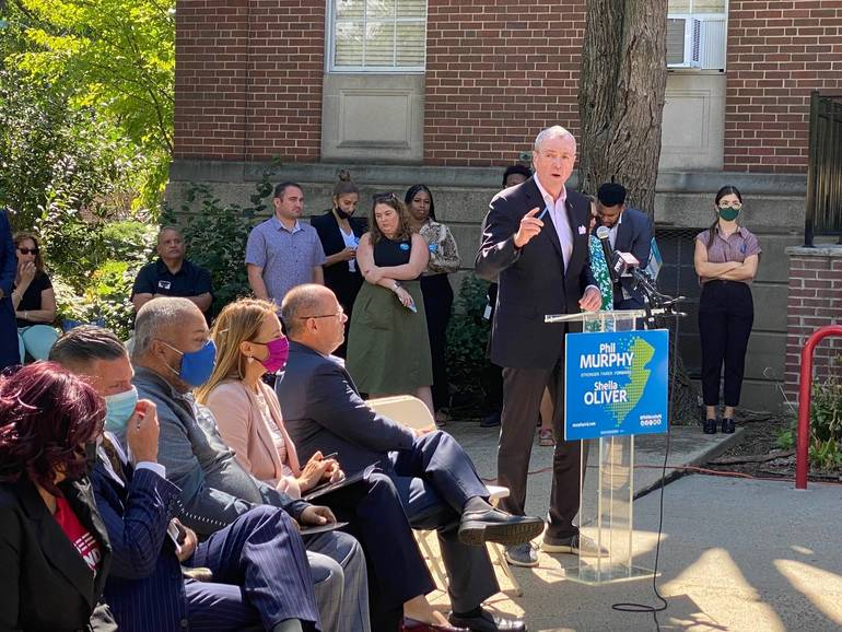Governor Murphy, Congresswoman Sherrill in Bloomfield for Anti Gun Violence Rally