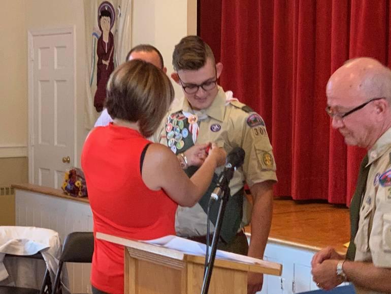 50th Eagle Scout of Boy Scout Troop 309 - William (Liam) Glynn
