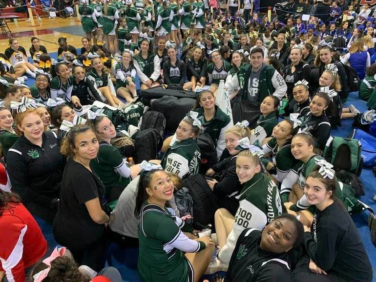 South Plainfield High School Cheerleaders Place 2nd at GMC Championships