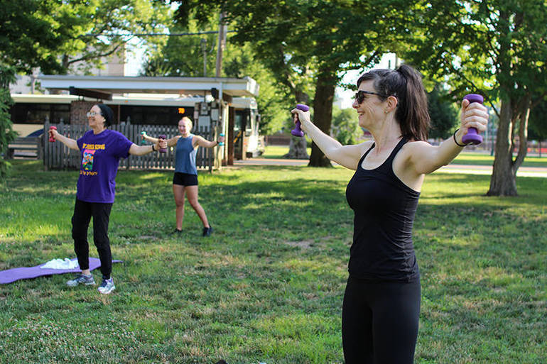 Body Blast Outdoor Group Exercise