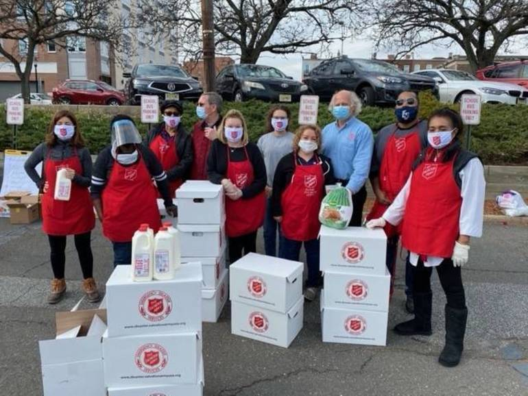 'Doing the Most Good:' Salvation Army of New Jersey Feeds 235 Bergen County Families Ahead of Thanksgiving