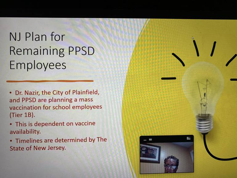 COVID-19 Update for the Plainfield Public School District