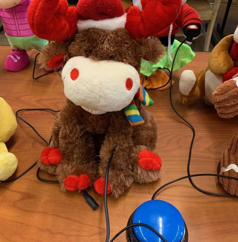 South Plainfield Middle School STEM Club Makes Adaptable Toys for The Special Needs Students of Lakeview School
