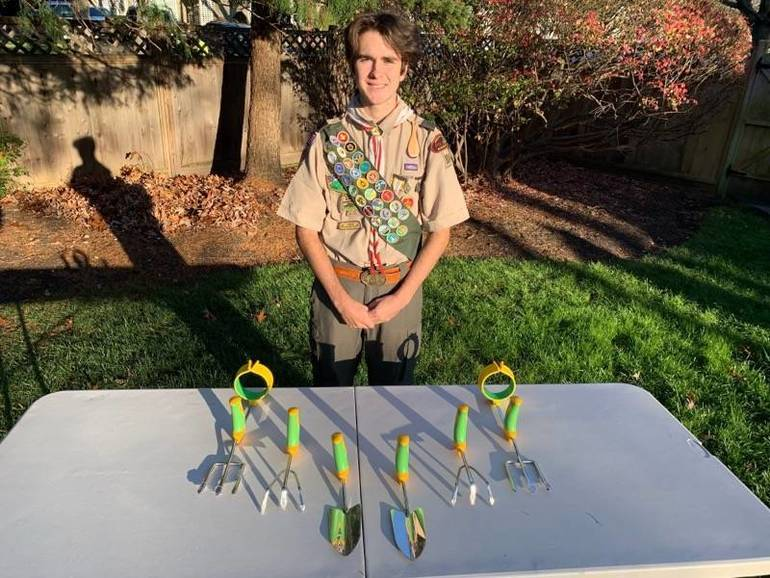 Terence Downey of Troop 104 is Scotch Plains-Fanwood's newest Eagle Scout.