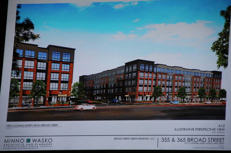 Newark Planning Board Requires On-Site Affordable Housing for Broad Street Project