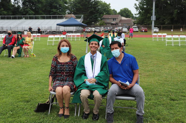SPHS Class of 2020 Graduates In-Person on Jost Field