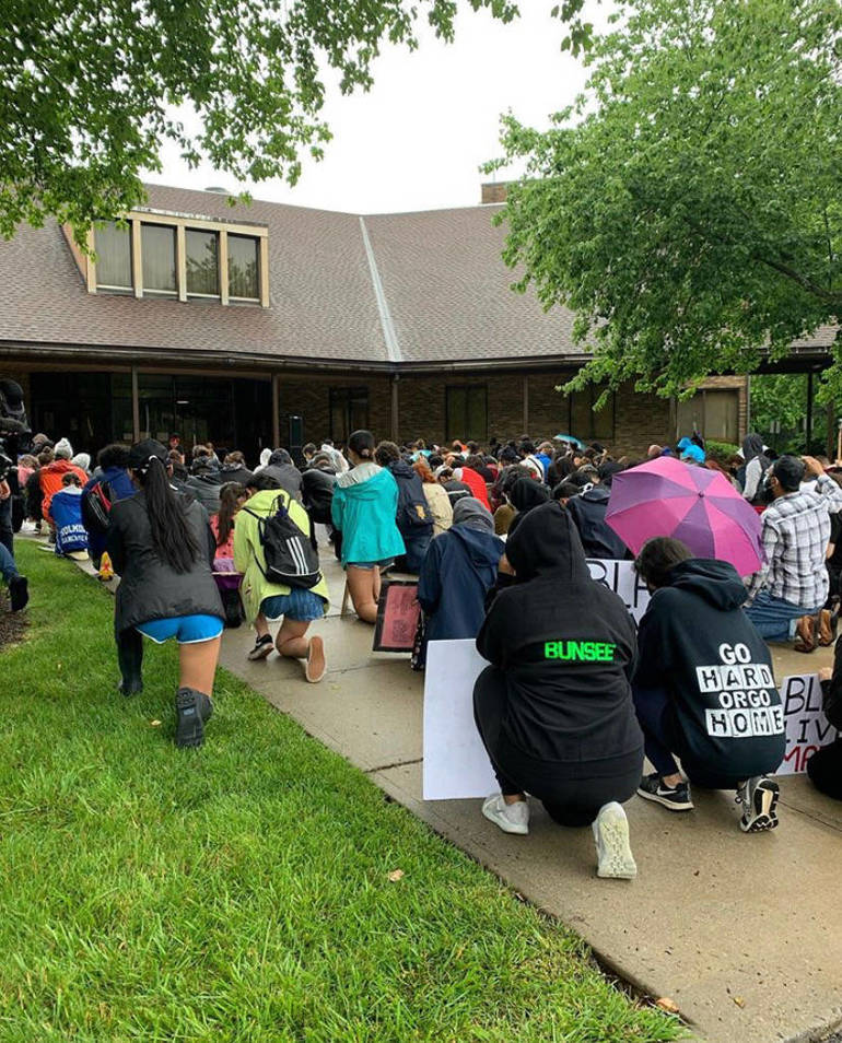 WATCH: #NoViolenceNoHate, Holmdel Township Hosts Peaceful March to Protest Racism and Violence