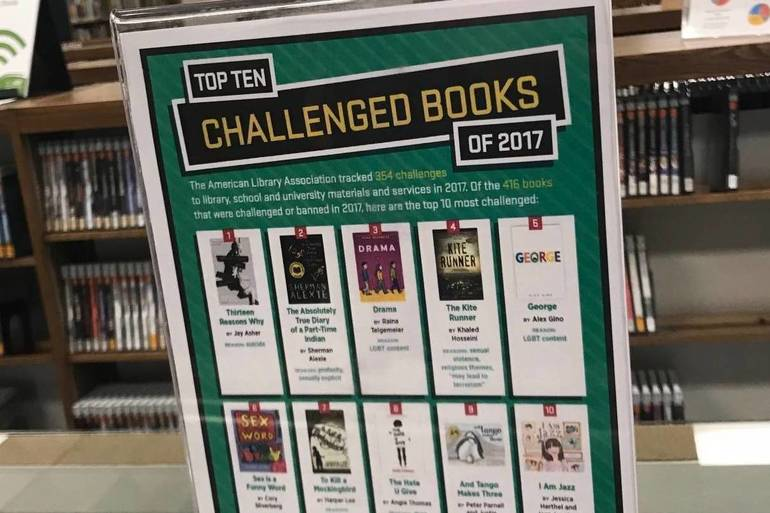 Olean and Cuba Libraries Celebrate Intellectual Freedom During Banned Books Week