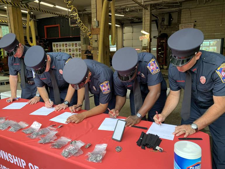 Fifteen New Firefighters Join the Union Fire Department