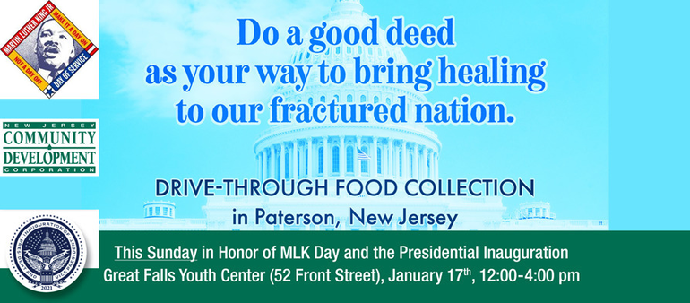NJCDC to Host Drive-Through Food Drive as Part of National Day of Action