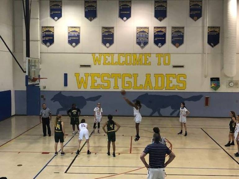 Westglades Girls Basketball Advances in Playoffs