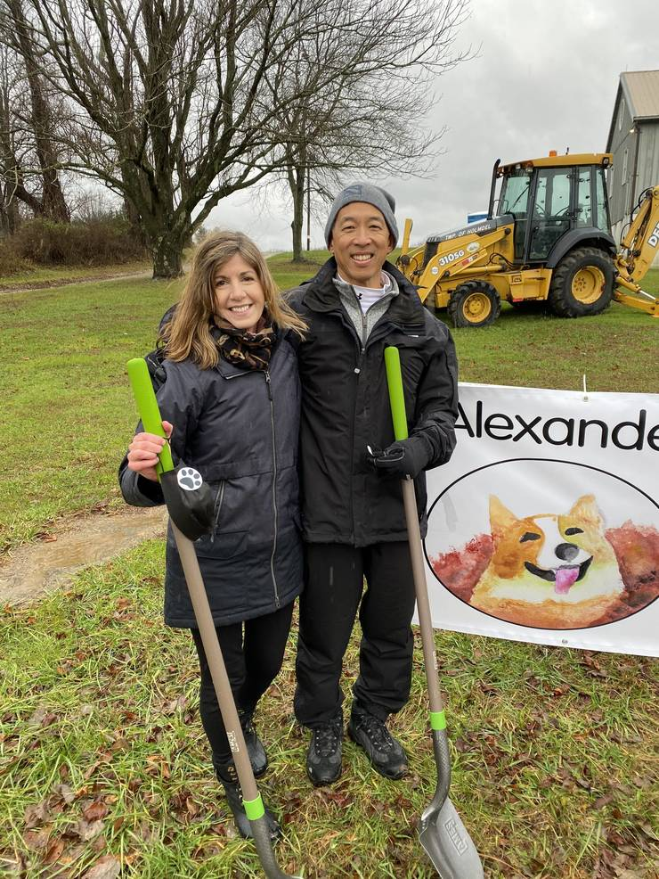 Dog Park at Holmdel's Historic Bayonet Farm Dedicated in Memory of Beloved Alexander Ching