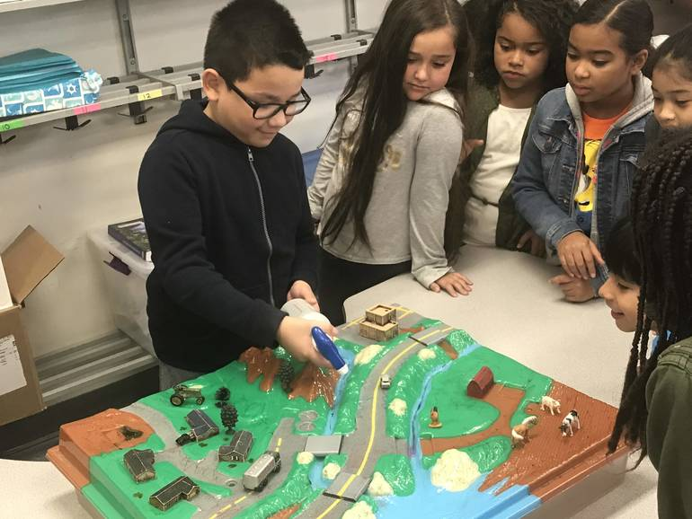 Hannah Caldwell School Students Learn the Importance to Preserving Our Waterways