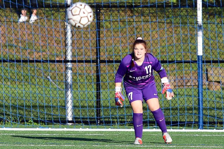 Scotch Plains-Fanwood goalie Maya Kessler