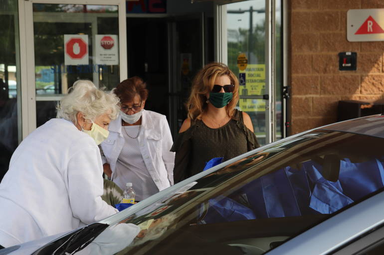 Storm Ready Drive-By Event at South Plainfield Senior Center Prepares Seniors for Storm Season