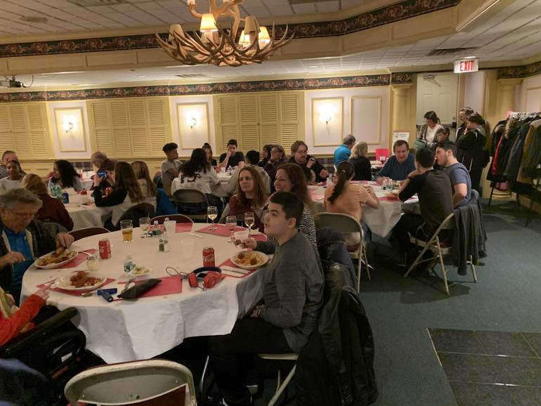 Pasta Night at the Elks Lodge Benefits South Plainfield High School Music Boosters and Persad Family