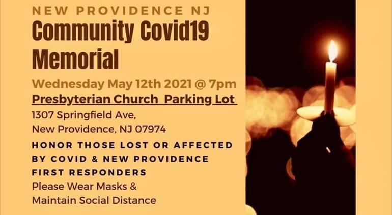 Mayor's Update: Community Covid Memorial Tonight at 7 p.m.