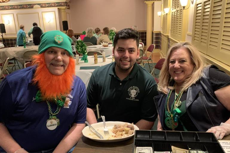 South Plainfield Elks Celebrate Saint Patrick's Day with Corned Beef and Cabbage Dinner