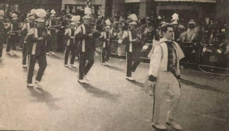 Dublin Ireland, St. Paddy's Day Parade 1992