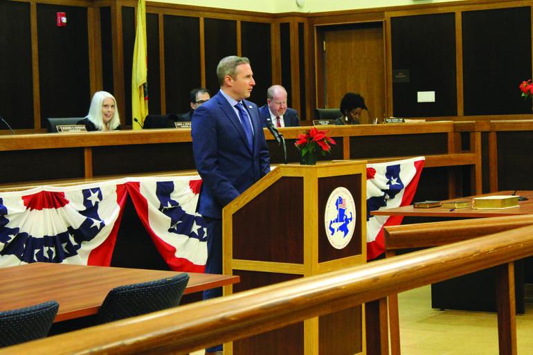Bridgewater Mayor Matthew Moench