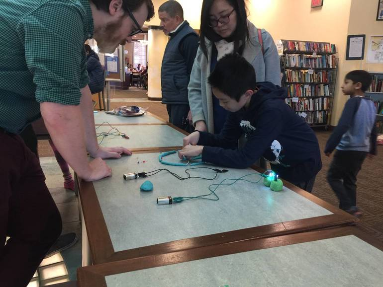 Children Wowed by STEM Exploration at Livingston Makers Day Event