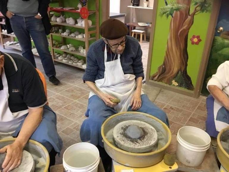 Meet Plainfield's duCret School of Art Former Pottery Instructor Sabatino Costanzo