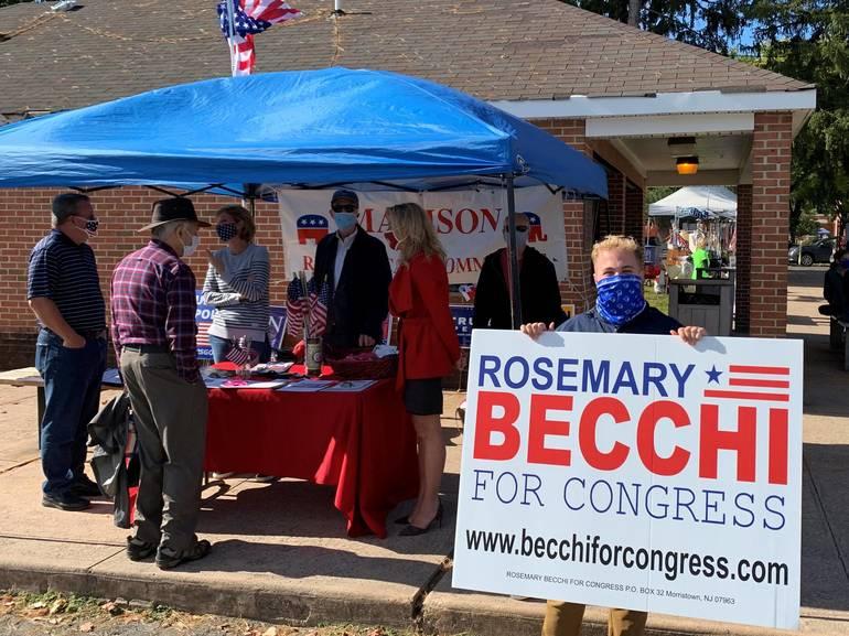 Rosemary Becchi at Madison Farmers' Market