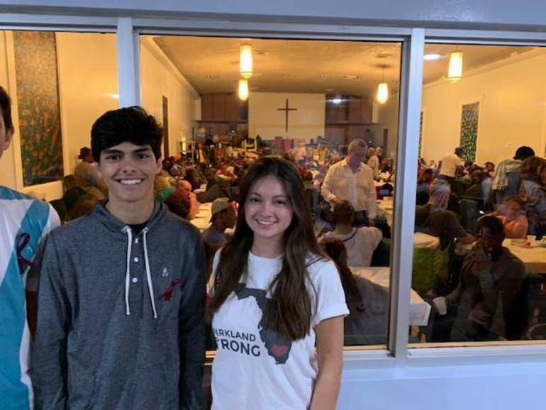 Charlie and Alexa packaged 158 Boxes of Love