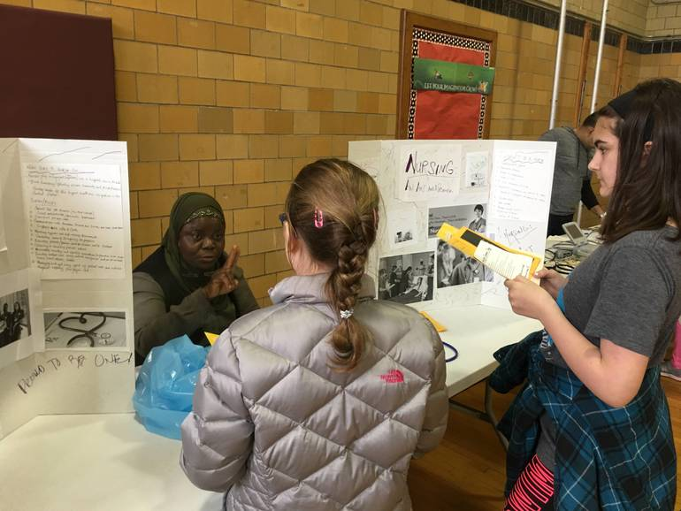 Career Day at Connecticut Farms School