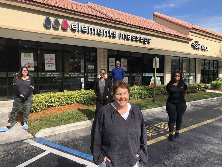 "Owner of Coral Springs Elements Massage and Salt Room: ""I'm All About Helping And Wellness"""