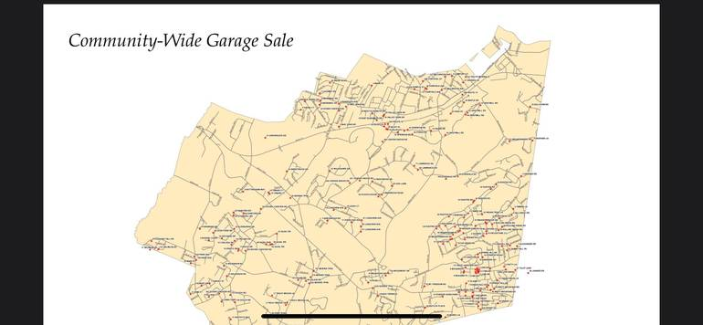 Bulk Clean Up Reminder / Randolph Community-Wide Garage Sale Starts Sat. 4/24
