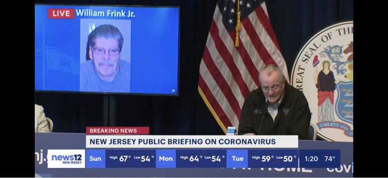 """Governor Murphy Honors William """"Bill"""" Frink, Remembering the Greatness of a Humble Man Who Will Be Greatly Missed"""