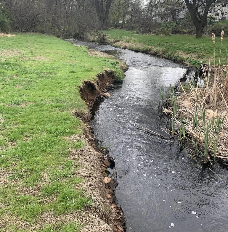 Waterway at Brookside Park