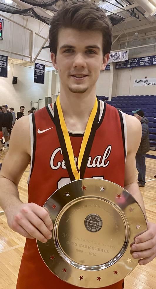 Hunterdon Central junior Brian Johansson was named MVP.