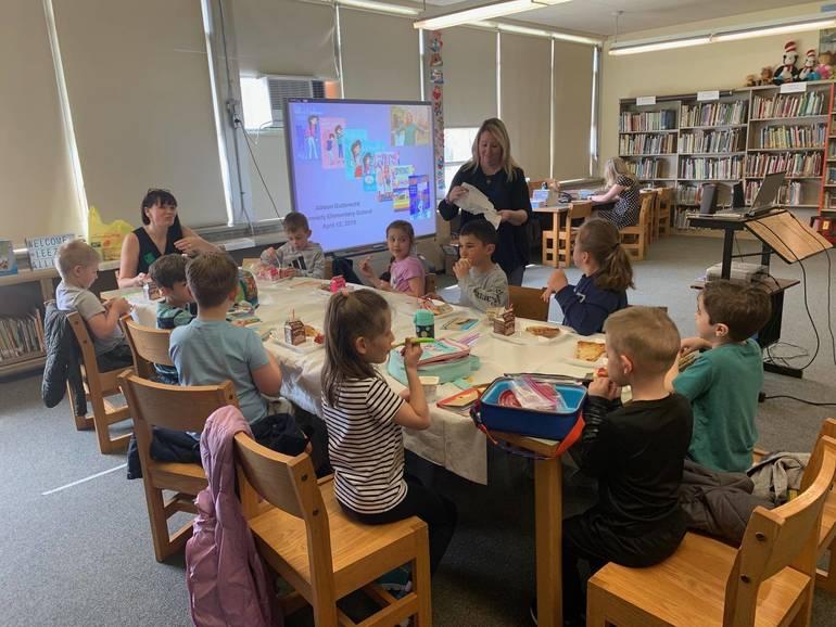 Children's Book Authors Visit Kennedy Elementary School