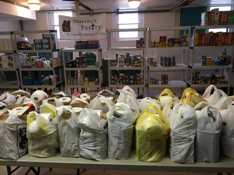 Amidst Coronavirus, Martha's Pantry Continues To Provide