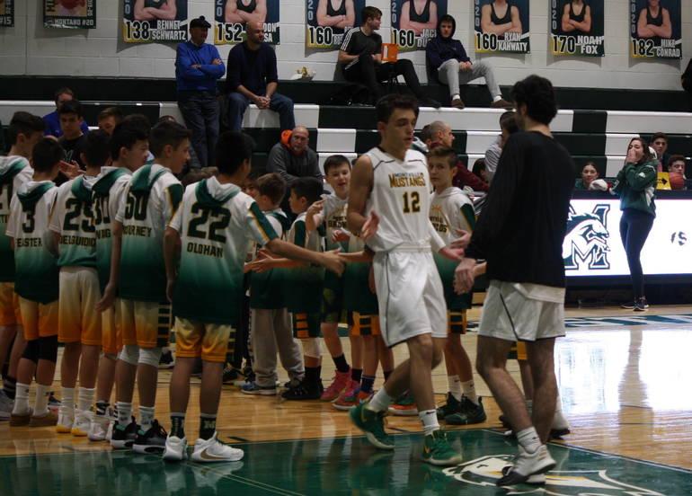 Montville faces Morris Knolls in boys basketball