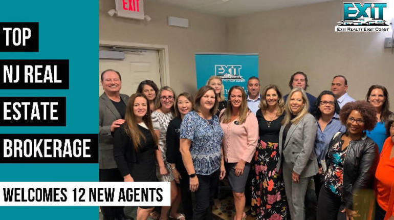 12 New Agents Choose to Join EXIT Realty East Coast, Company Incentives and Growth Opportunities Attract Top Talent