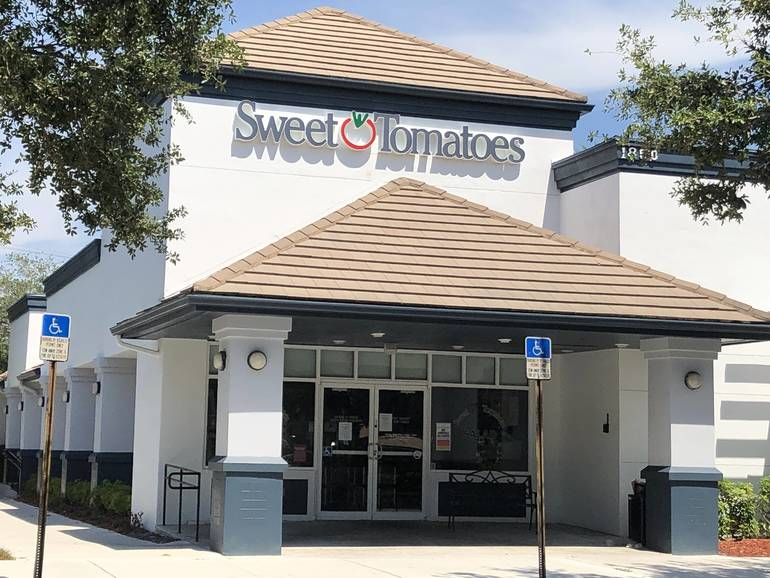 Sweet Tomatoes Restaurant Closes Permanently in Coral Springs