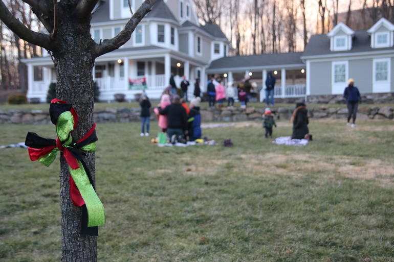 Randolph Families Gather to Honor Martin Luther King Jr. Day in Their Own Special Way