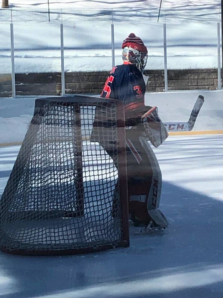 Ice Hockey: Darata, Kramer, Silverman and Cook - A Recipe for Outdoor Success