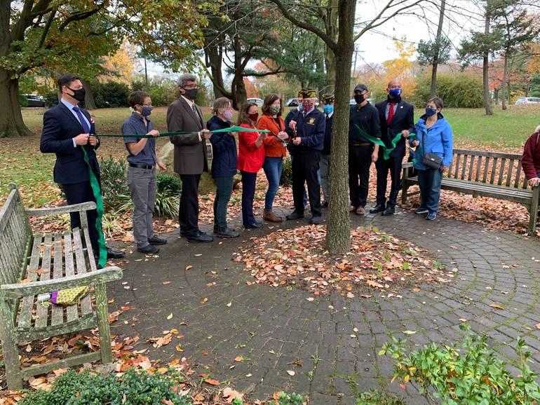 Maplewood Rededicates its Vietnam Veterans Memorial