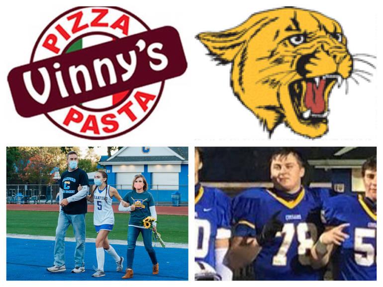 Vinny's Pizza & Pasta Cranford Senior Athletes of the Week: Shannon Berry & Rob Stevens