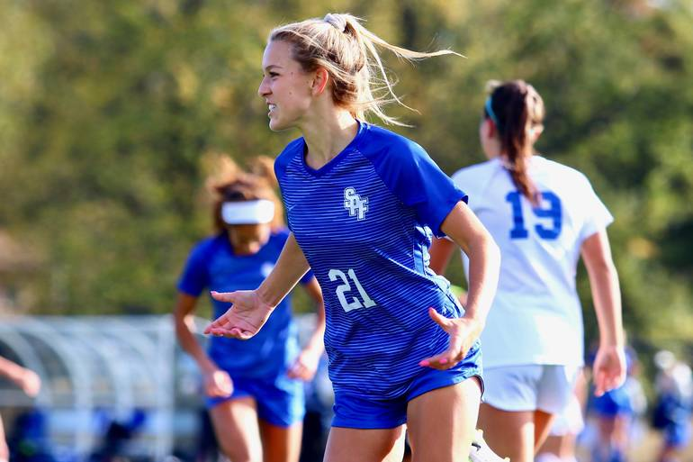 Scotch Plains-Fanwood HS girls soccer star Leah Klurman is this week's Joint Motion Physical Therapy Athlete of the Week.