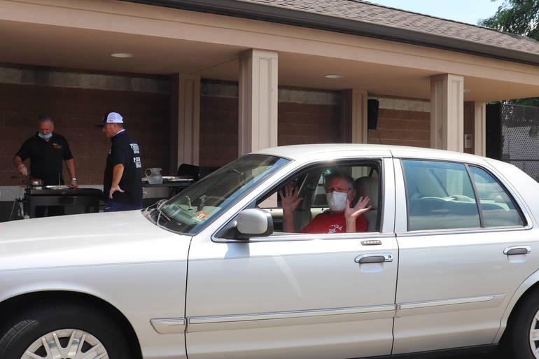 South Plainfield Senior Center Drive Thru Cookout a Huge Success