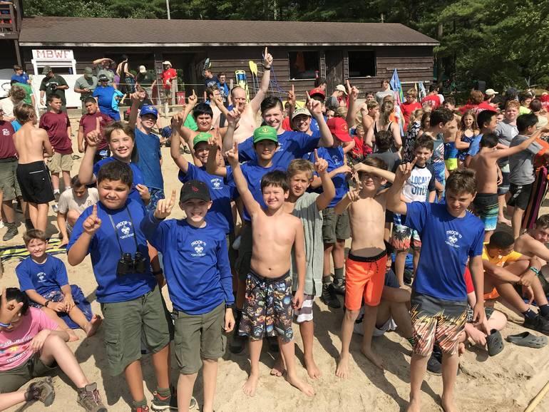 Troop 17 at Camp Yawgoog
